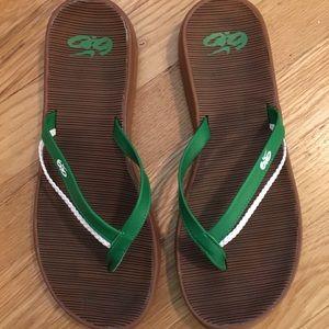 Nike 6.0 flip flops